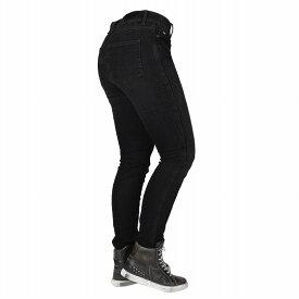 【お買い物マラソン開催中 ☆ 期間中はポイント2倍です!注文は今がチャンス!】Bull-it Jeans レディースタクティカルSP75 AA スリムモーターサイクルジーンズ Stone/Black