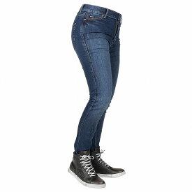 【お買い物マラソン開催中 ☆ 期間中はポイント2倍です!注文は今がチャンス!】Bull-it Jeans レディースタクティカルSP75 AA スリムモーターサイクルジーンズ Icona Blue