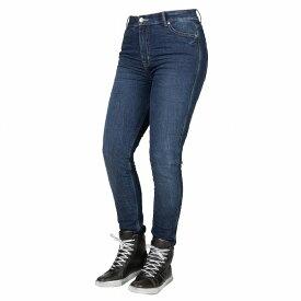 【お買い物マラソン開催中 ☆ 期間中はポイント2倍です!注文は今がチャンス!】Bull-it Jeans レディースタクティカルSP75 AA ストレートバイクジーンズ Icona Blue