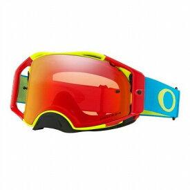 ☆【Oakley】エアブレーキMXゴーグル RGB Frame / Prizm Torch Iridium Lens
