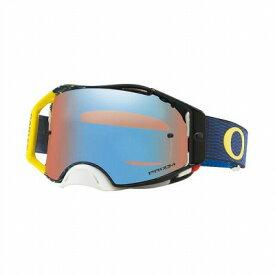 ☆【Oakley】エアブレーキMXゴーグル Equalizer Blue and yellow Frame/Prizm Sapphire Iridium Lens