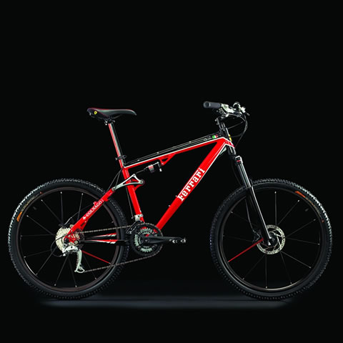 【マウンテンバイク★Ferrari Bicycle】【高級スポーツカー Ferrari-フェラーリ】【台数限定販売】フェラーリ自転車! Ferrari_CX60