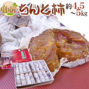 """【送料無料】""""ちんと柿"""" L〜3L 約4.5〜5kg 中国産【予約 12月以降】"""