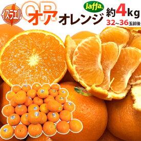 """【送料無料】""""オア オレンジ"""" 32〜36玉前後 約4kg イスラエル産 オアマンダリン【予約 2月下旬以降】"""