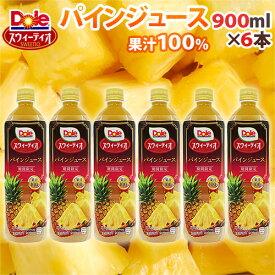 """""""DOLE スウィーティオ パインジュース"""" 900ml×6本"""
