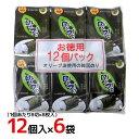 """大同 """"オリーブ油使用 韓国味付海苔"""" 12個入×6袋 合計72個入(1ケース)"""