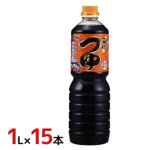 """ヤマモリ """"名代つゆ"""" 1L×6本(1ケース)"""