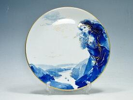 【中古】マイセン 2001年イヤープレート 飾り皿 『ローレライ』