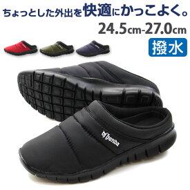 【売切セール 7/26 1:59時まで】サンダル メンズ おしゃれ サボ 黒 靴 DJ honda DJ-261 tok