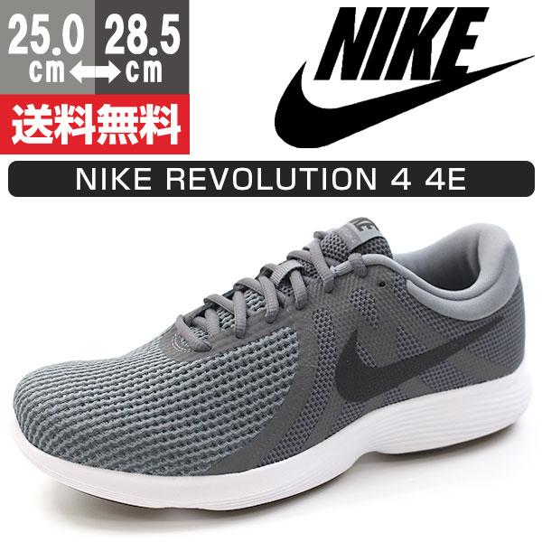スニーカー メンズ ナイキ ローカット 靴 NIKE REVOLUTION 4 4E AA7402