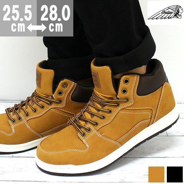 スニーカー メンズ インディアン ハイカット 靴 Indian IND-11800