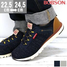 スニーカー レディース ボブソン スリッポン 靴 BOBSON BOW-17165 tok