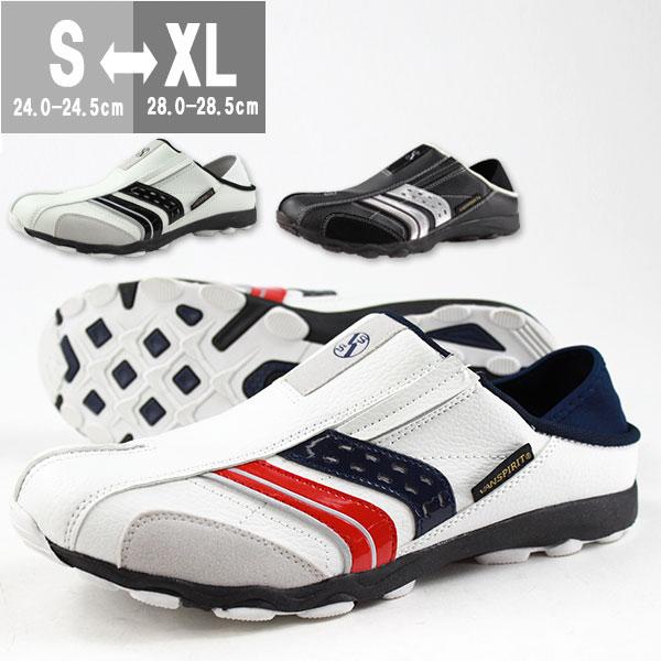 スニーカー スリッポン メンズ 靴 VANSPIRIT VR-7261