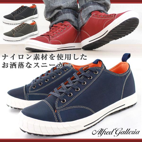 スニーカー ローカット メンズ 靴 ALFRED GALLERIA AG-1036 tok