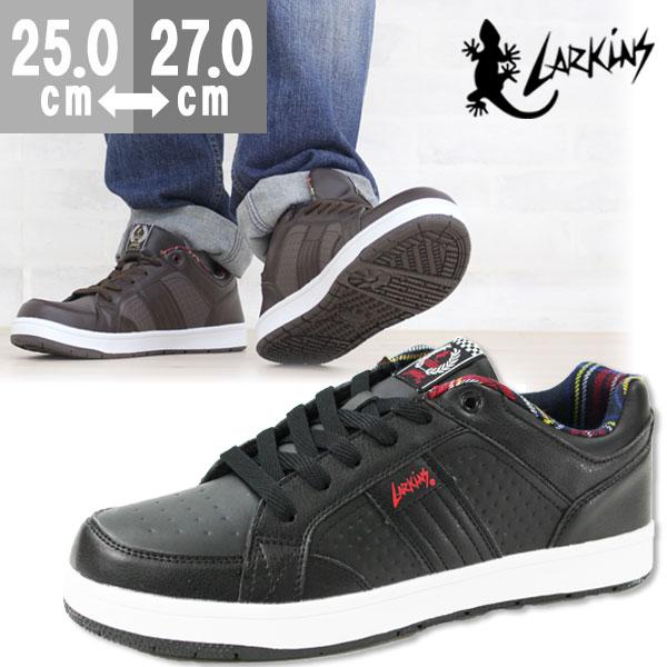 スニーカー ローカット メンズ 靴 LARKINS L-6275B ラーキンス
