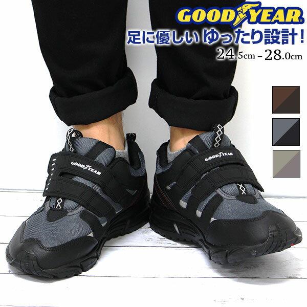 スニーカー ローカット メンズ 靴 GOOD YEAR GY-8083
