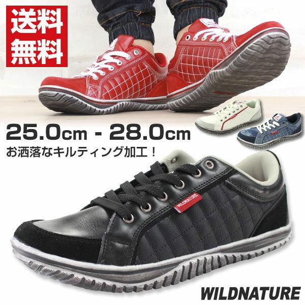 スニーカー ローカット メンズ 靴 WILD NATURE 2790-01/2790-02