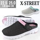 サンダル クロッグ レディース 靴 XSTREET XST-6033