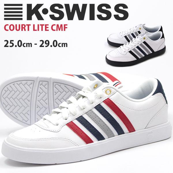 ケースイス スニーカー ローカットメンズ 靴 K-SWISS COURT LITE CMF