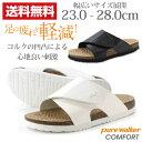 ピュアウォーカー サンダル オフィス レディース メンズ 靴 pure walker COMFORT PW7902 【5営業日以内に発送】