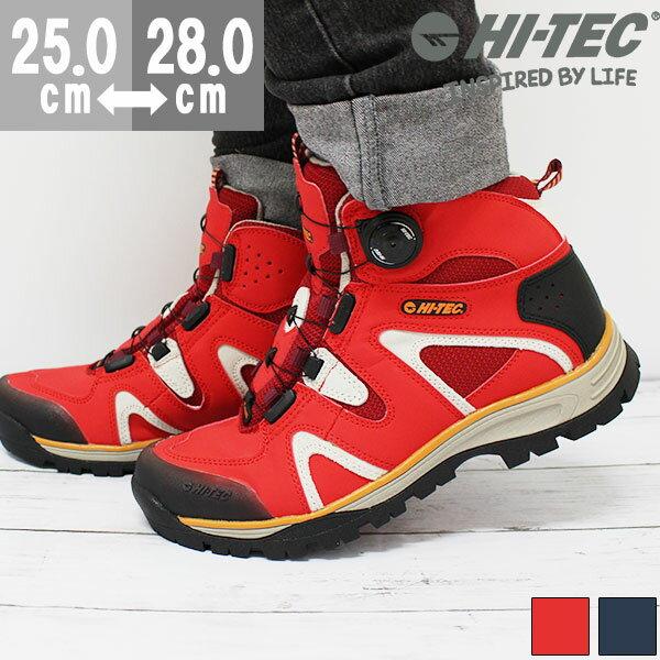 ハイテック スニーカー ハイカット メンズ 靴 HI-TEC HT TRM723 tok アウトレット 訳あり