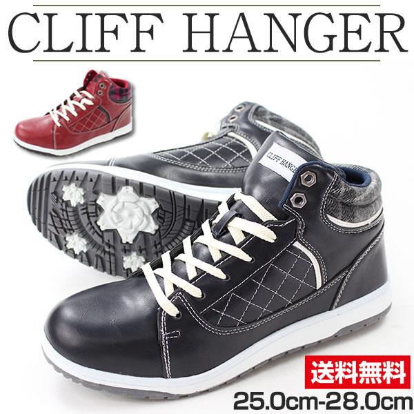スニーカー ハイカット メンズ 靴 CRIFF HANGER 7652