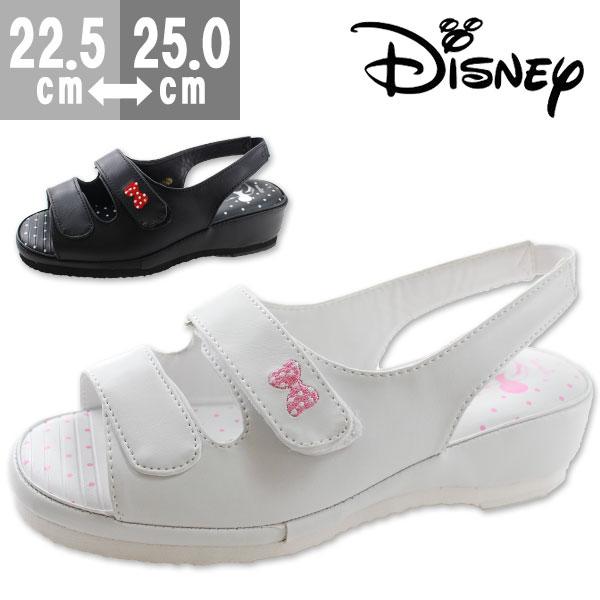 ディズニー ミニーマウス サンダル オフィス レディース 靴 Disney 6988