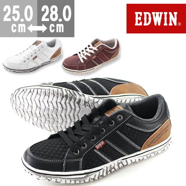 エドウィン スニーカー ローカット メンズ 靴 EDWIN ED-7138