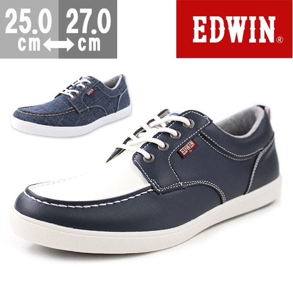 エドウィン スニーカー ローカット メンズ 靴 EDWIN ED-7155