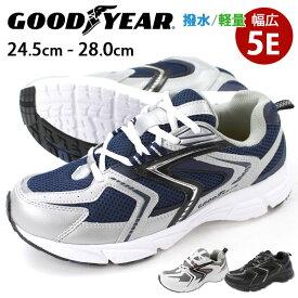 【スプリングセール 3/11 1:59まで】 スニーカー ローカット メンズ 靴 GOOD YEAR GY-8081 ダッドシューズ