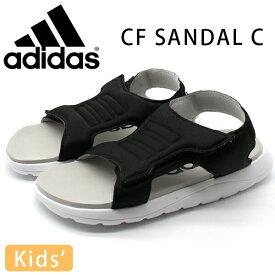 アディダス サンダル キッズ 子供 靴 スポーツ 黒 ブラック adidas CF SANDAL C FY8856