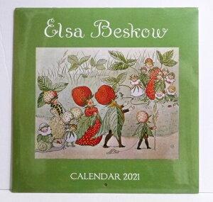 輸入2021年カレンダー「エルサ・ベスコフ」