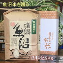 米 新米 2kg 魚沼産 コシヒカリ 新潟 特別栽培米 特A 一等米 贈答箱入 令和2年 新米 白米(一部送料加算有)2020/09/20より出荷スタート!