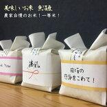 プチギフト【可愛いいお米プチギフト】魚沼米贅沢な特A地区魚沼産コシヒカリ3合
