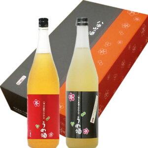 八海山 梅酒 2本(各72ml セット)ギフト箱発送箱入