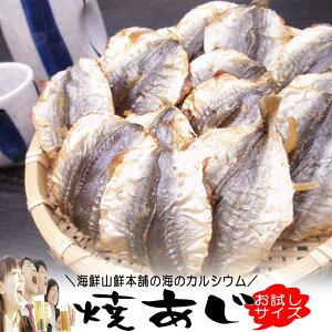 焼きあじ おつまみ珍味 お試しサイズ そのまま食べれる小魚カルシウム アジの燻製 干物 焼き小あじ 小アジ こんがり焼きあじ 炙り 乾燥 乾物 乾き物 燻製 送料無料 送料込み ポイント消化