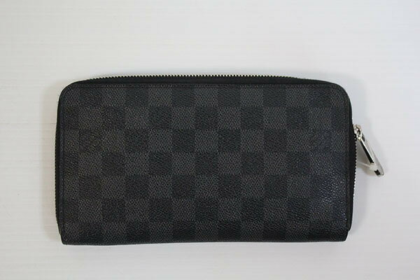 【SALE!】送料・代引き手数料無料!LOUIS VUITTON ルイ・ヴィトン/長財布/ジッピー・オーガナイザー/ダミエ・グラフィット