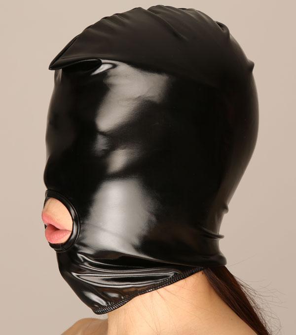 エナメル(PVC)2ウェイアイマスク【DM便OK】la-ls066【目隠し】【アイマスク】【ボンデージ】【lapomme】【チェリーラブ】