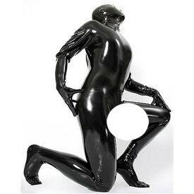 latexa-3108-男性用☆ラバートータルキャットスーツ【送料無料】【ラバー】【ラテックス】【ボンデージ】メンズ【Mサイズ以外は取寄せ】