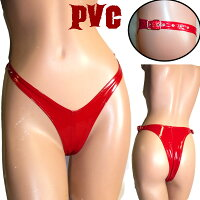 【skinfit】leda1651-blk-PVC・Tバック♪前後の幅が同じくらいのスリムパンティ【メール便対応】