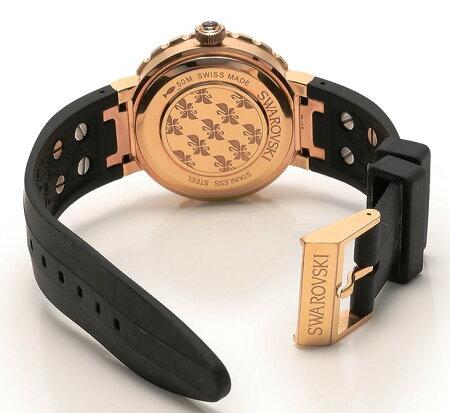 Swarovskiスワロフスキー腕時計スワロフスキー5080197オクテアスポーツ50m防水ゼブラ柄5080197BlackSiliconeSwissQuartz/OCTEA【送料無料】【中古】