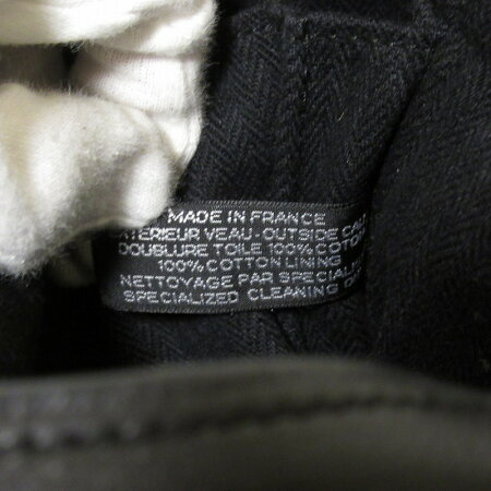 HERMESエルメスキャラバンオリゾンタルPM2wayハンドバッグブラック【送料無料】【中古】