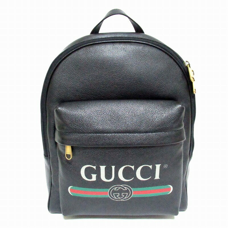 GUCCI グッチ グッチ GUCCIプリント バックパック リュックサック 547834【送料無料】【未使用品】