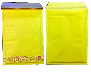 黄色い クッション封筒 A5冊子、DVD、ビデオサイズ ポップエコ825T×100枚 パック 送料無料