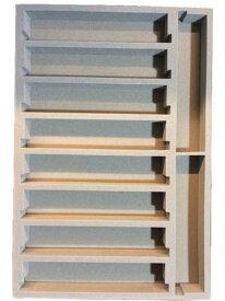 Nゲージ車両収納用 A4ブックケース対応 交換用10両収納中敷ウレタン(小)5枚パック