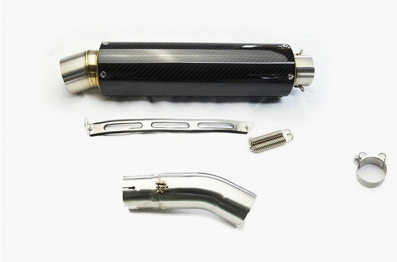 GSX-R750 L1L6 2011-2016 カーボンスリップオンマフラー