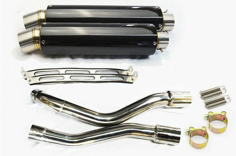 GSR250 / S / F 2012-2016 カーボンスリップオンマフラー