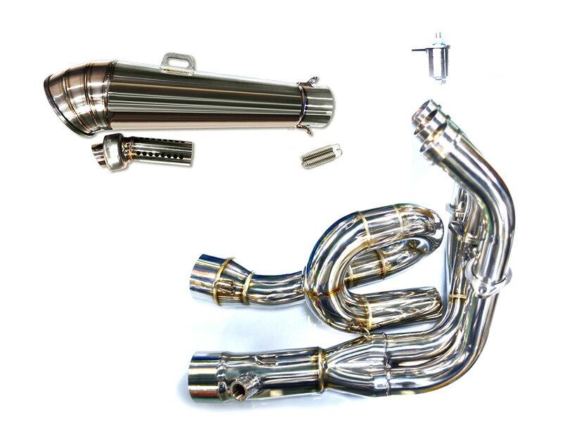 MT-09 MT09 LCIショートGPステンレスマフラー フルエキゾースト