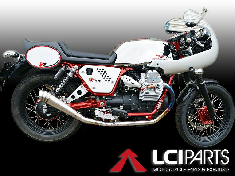 モトグッチ V7 Racer LCI GPチタンスリップオンマフラー