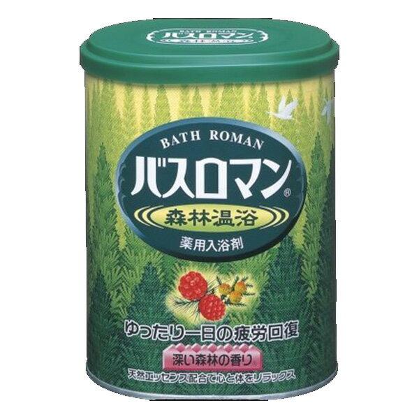 【超目玉特価】LA74 アース製薬 バスロマン 森林温浴 680g 入浴剤 【2価】【ポイント消化】【P2】